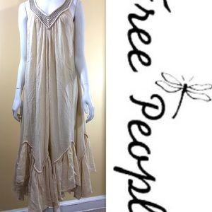 Free People gauze midi/maxi dress